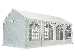 XXL 4x8 m heavy duty party tent, marquee PVC white