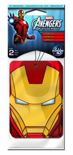 Plasticolor 005500R01 Marvel 'Iron Man' Air Freshener, (Pack of - Online Ironman Shop