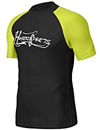 HUGE SPORTS UPF 50+ Rash Guard Short Sleeves
