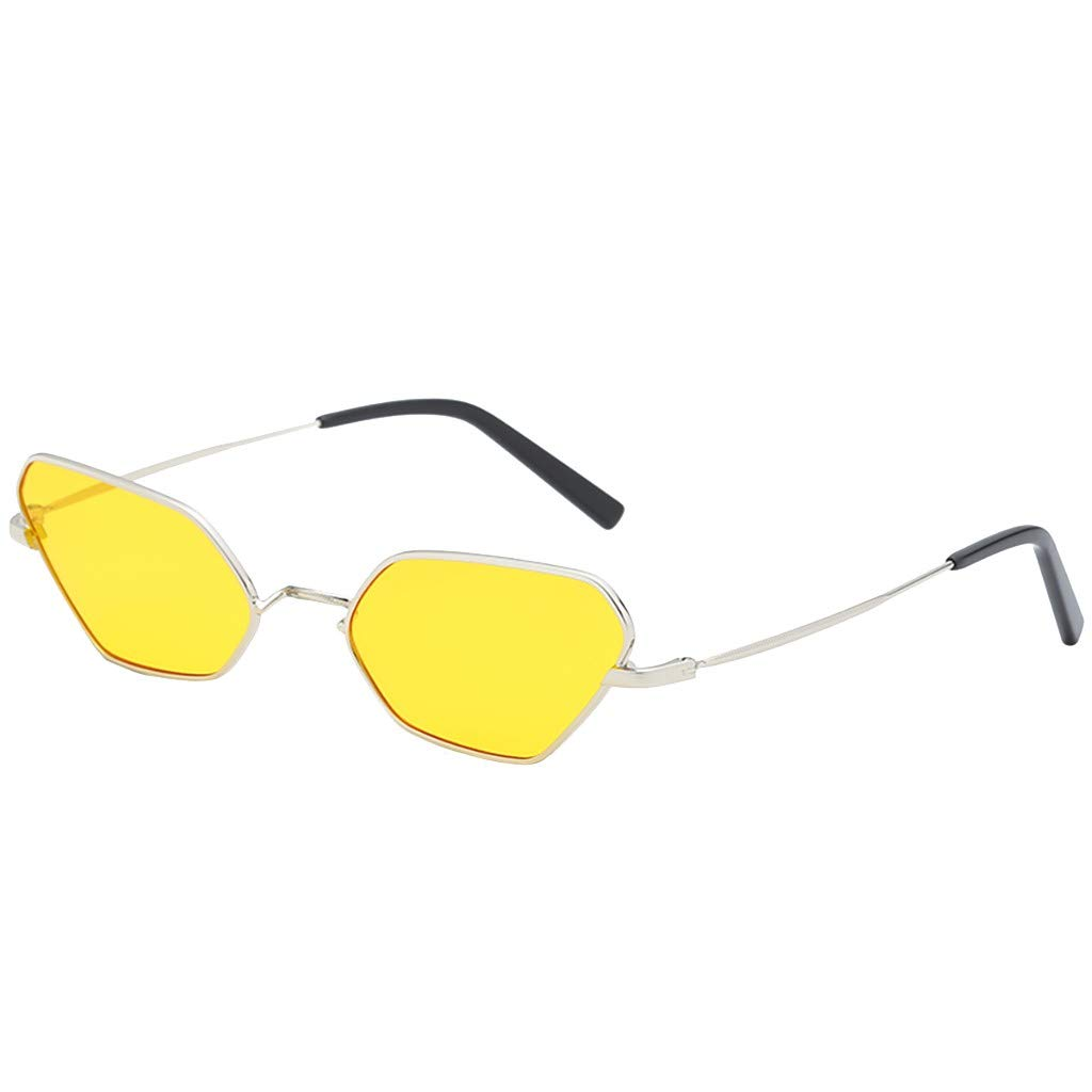Molyveva Oversized Lens One Piece Colored Sunglasses Thin Lightweight Unisex