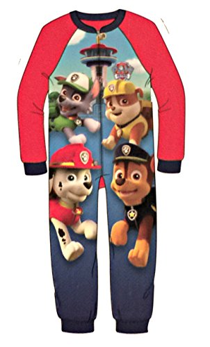 Nickelodeon Paw Patrol One Piece Sleeper For Boys (6/7) by American Marketing (Image #1)
