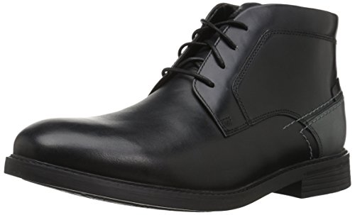 Rockport Men's Collyns Low Boot Chukka Boot, black, 10 M US ()