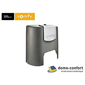 somfy capot seul de remplacement pr moteur elixo 24v 2 me g n ration somfy 1782543 amazon. Black Bedroom Furniture Sets. Home Design Ideas