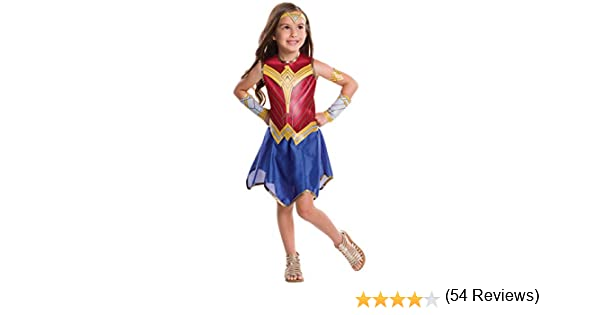 Rubies - Disfraz Oficial de Wonder Woman para Mujer, Talla L7/8 ...