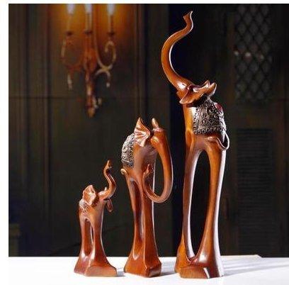 Gift visionario resin bridal fashion Home Furnishing elephant zj0124430