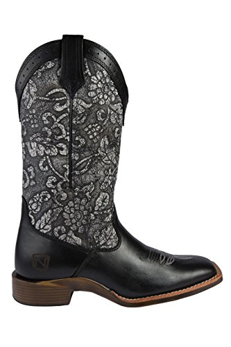 Floral Around All Outfitters Boots Noble Ladies 11 x6P8qxHw