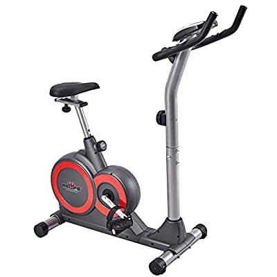 RELIFE REBUILD YOUR LIFE Magnetic Upright Bike Stationary Indoor Cycling Gym Resistance Workout Home Gym Fitness Machine Exercise Bike
