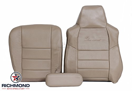 2002 2003 2004 Ford Excursion Limited - Driver Side Complete Leather Seat Cover (Ford Excursion Interior)