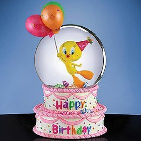 Outstanding San Francisco Music Box Company Happy Birthday Tweety Water Personalised Birthday Cards Cominlily Jamesorg