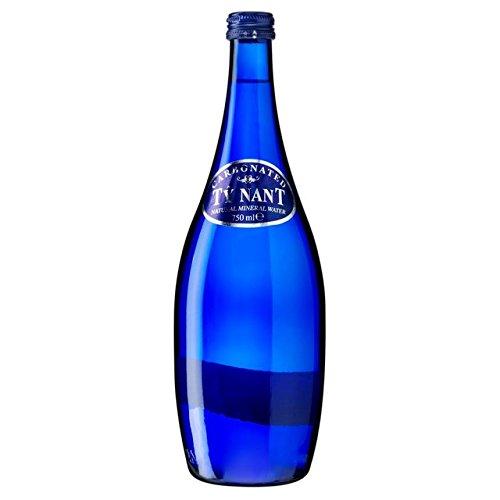 Ty Nant Sparkling Agua de Manantial Cristal 750ml botella: Amazon.es: Hogar
