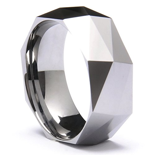 three-keys-jewelry-8mm-tungsten-carbide-ring-wedding-engagement-band-silver-multi-facet-fashion-band