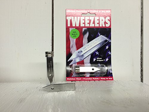 - Sliver Gripper Precision Tweezers in a Recloseable Tube