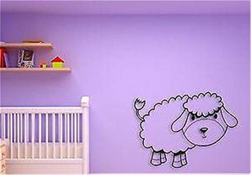 Family-decal Wall Stickers Art Decor Decals for Kids Baby Lamb Cool for Nursery Room