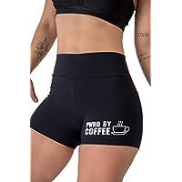 Shorts Empina Bum Bum Pwrd By Coffee Preto