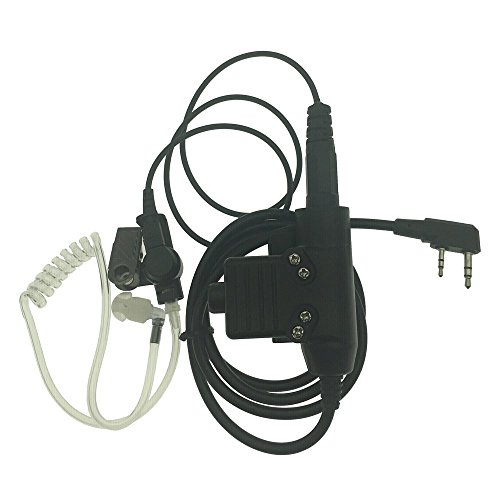 DONG 2-Pin Covert Acoustic Tube Walkie Talkie Earpiece for sale  Delivered anywhere in USA