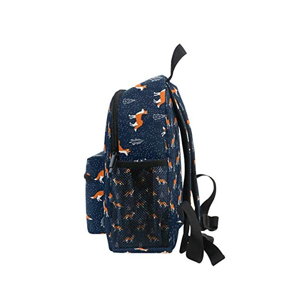 Foxes - Zaino da scuola per bambini e ragazze per bambini, 3 – 8 anni, colore: Blu 4 spesavip