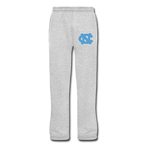 - Men's Ncaa North Carolina Tar Heels Fleece Sweatpants With Pockets Size XXL Ash 100% Cotton By Yisw