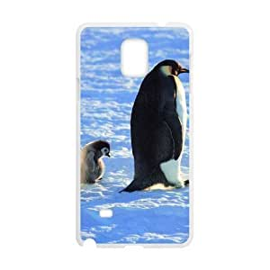 Diy Cute Penguin Animal Custom Cover Phone For Case Iphone 4/4S Cover White Shell Phone [Pattern-6]