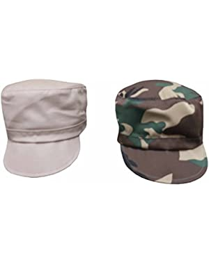 Baby and Toddler Boys Classic Painter Cap (1 or 2 Piece Pack)