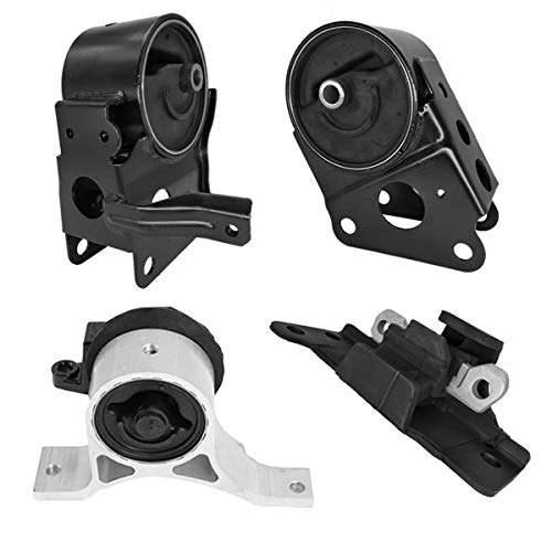 (Engine Motor & Transmission Mount Compatible for 2004-2009 Nissan Quest 3.5L fit 5 speed Auto, Set of 4)
