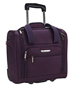 """TPRC 15"""" Under Plane Seat""""The Rafael"""" Luggage Made of Top Durable Fabric Constructed for Millions of Travel Miles, Purple (Purple) - PR-85315-510"""