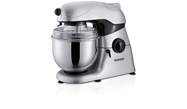 Severin Food Processor KM 3882 4.5L Plata - Robot de cocina (4,5 L, Plata, Metal, 600 W): Amazon.es: Hogar