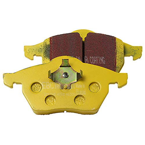 EBC Brakes EBC Yellowstuff Brake Pads DP4815R, Yellow: