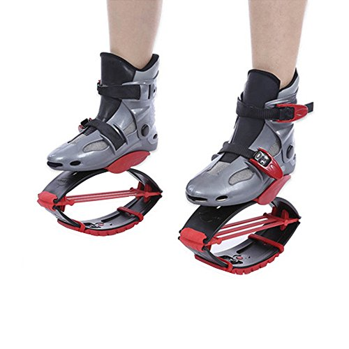 TTLIFE Pogo Sticks Jumping Shoes Kangaroo Kids Adults Outdoor Sports Fitness Shoes Lose Weight Shoes (red 33-35) by TTLIFE