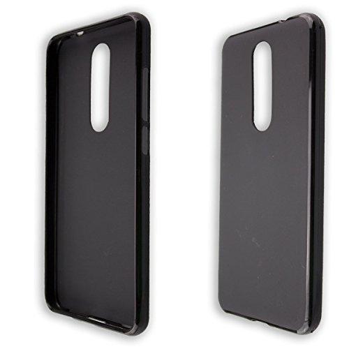 caseroxx Smartphone Case Wiko View Prime TPU-Case - Shock Absorption, Bumper Case in black
