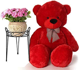 SARIKA TOYS Lovable Hugable Soft Teddy Bear with Free Heart for Kids & Girls Special Gift for…