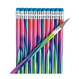 Fun Express Tie-Dyed Pencils (48 Pencils)