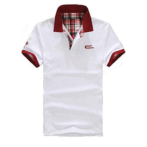 (NAIL39) ポロシャツ メンズ 半袖 ゴルフウエア カジュアル スポーツ おしゃれ 綺麗 ユニセックス サマー 夏服 通気性 速乾 運動