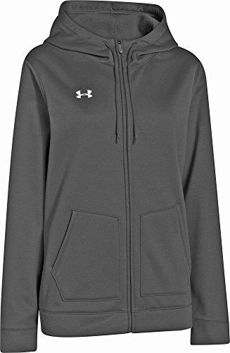 Under Armour Women's UA Storm Armour Fleece Full Zip Hoody, Black/White, XLarge