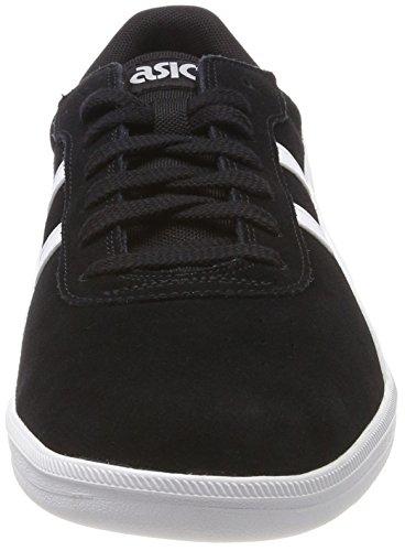 Asics Herren Percussor TRS Sneaker, Birch/White Schwarz (Black/White 9001)  ...