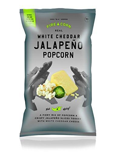 White Cheddar Jalapeno Popcorn, by, 4.5oz (Gourmet Jalapeno)