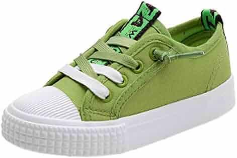 f66381b7710757 iDuoDuo Boy Girl Anti Collision Classic Low Top Flat School Canvas Sneakers  (Toddler Little