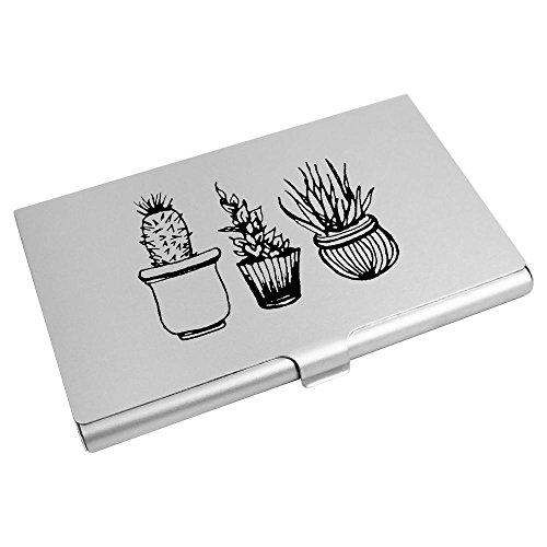Azeeda Wallet Card Plants' Holder CH00015490 Card Business Credit 'Potted ww6qFZ