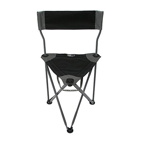 TravelChair Ultimate Slacker 2.0, Superior Seating Area in a Tripod Seat, Black