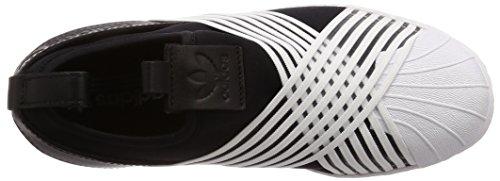 Nero W Ftwr On Core da Slip Donna White White Scarpe adidas Black Ftwr Ginnastica Superstar q1fn8