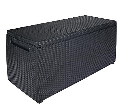 Keter Auflagen- und Universal Rattan Style Box Capri, 305 L, grau ...