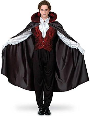 Disfraz de Vampiro Gótico de hombre para Halloween: Amazon.es ...