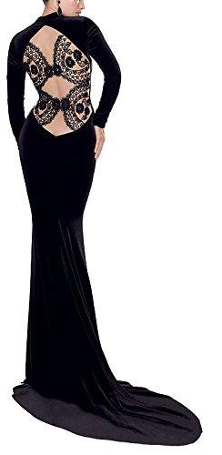 Velvet Gown Dress - 4