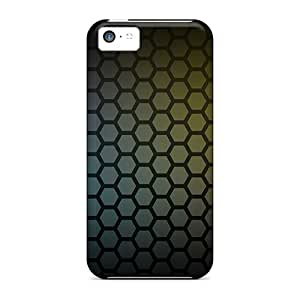New Arrival Case Cover With UIM887KVcJ Design For Iphone 5c- Honeycomb