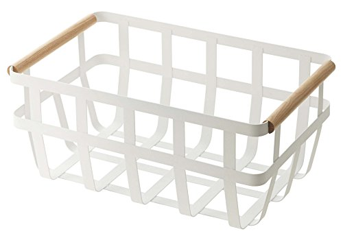 YAMAZAKI home Tosca Storage Basket, Dual Handle
