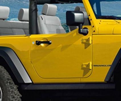 amazon com jeep wrangler half doors 1 2 door interior trim kit