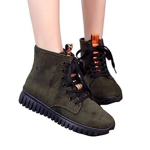Shoes Casual Eu Ms Tie 37 Size Boots Deed Flat Studenti X6FqB