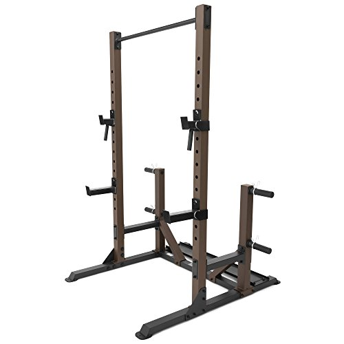 Steelbody Squat Rack Utility Trainer with Weight Storage Posts STB-98010
