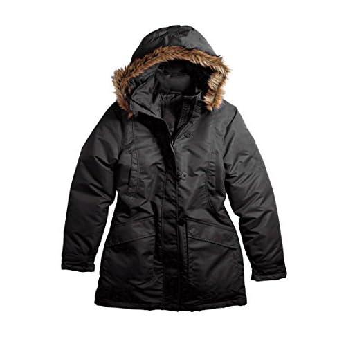 Cheap Ellos Women's Plus Size Taslon Faux-Fur Hooded Jacket supplier