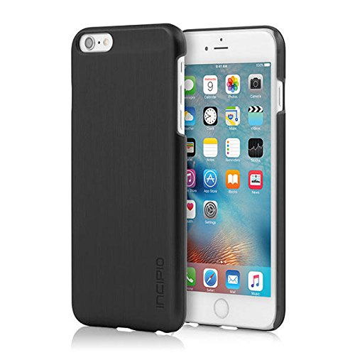 save off d377e 1142b iPhone 6S Plus Case, Incipio Feather Shine Case [Lightweight] Cover fits  Both Apple iPhone 6 Plus, iPhone 6S Plus - Black
