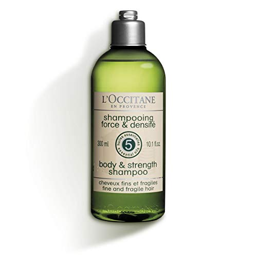 L'Occitane Aromachologie Body & Strength Shampoo for Unisex, 10.1 Ounce